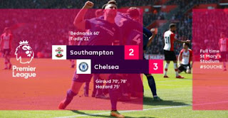 Southampton vs Chelsea 2 - 3 Highlights #SOUCHE