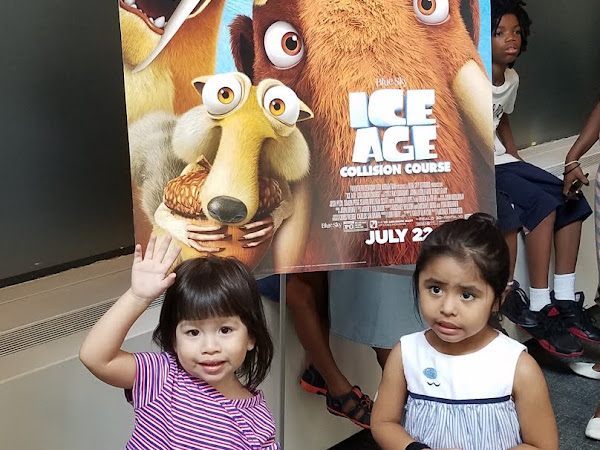 Fun Filled Day With Ice Age Collision Course and the AMNH