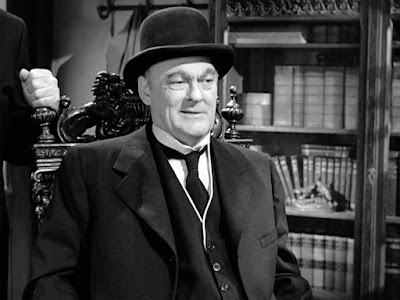 Mr. Potter from It's a Wonderful Life
