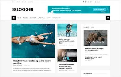 theblogger blogspot template