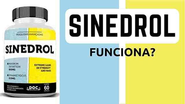 SINEDROL FUNCIONA - Fórmula, Composição, Ingredientes 👉 Comprar