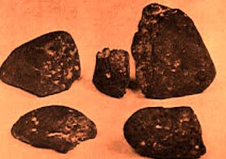 Aerolit Batu Meteor Bahan Pamor Jaladara