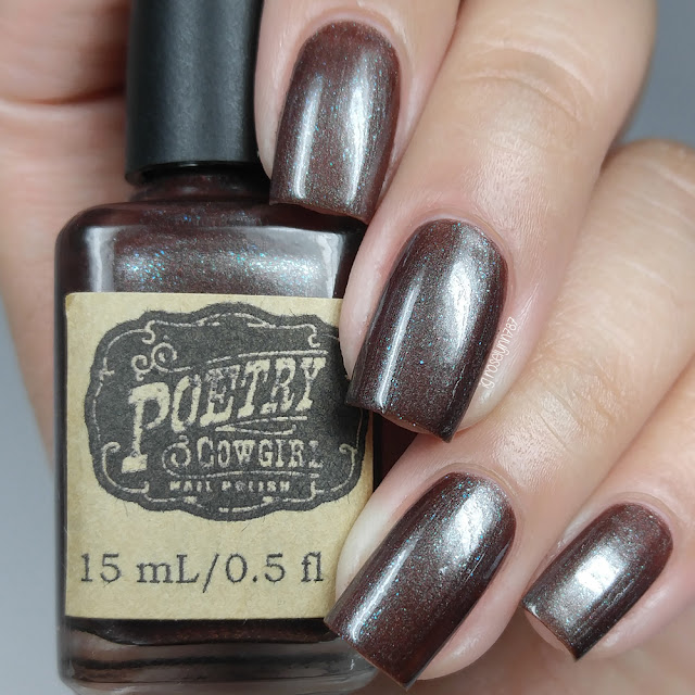 Poetry Cowgirl Nail Polish - Spiced Hot Cocoa