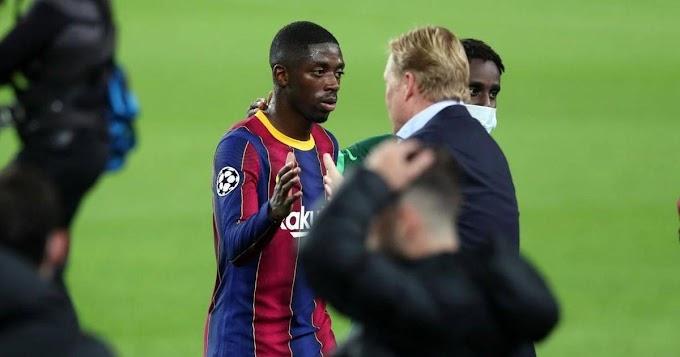 Dembele create a new record in Barcelona impressive cameo against Ferencvaros