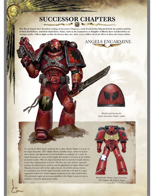 Codex Blood Angels Red Thirst Edition
