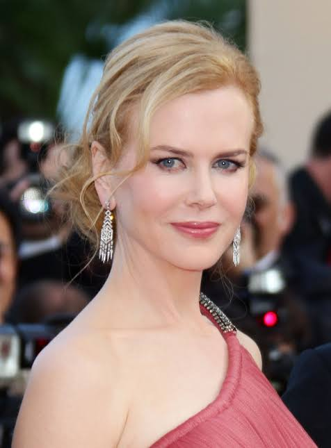 Nicole Kidman after being hit by Meryl Streep