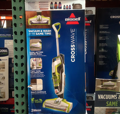 Costco 1118880 - Bissell Crosswave All-in-One Multi-Surface Cleaner: capable of cleaning most types of surfaces