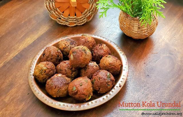 images of Mutton Kola Urundai / Kola Urundai / Mutton Keema Balls