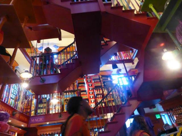 la boutique des jumeaux Weasley