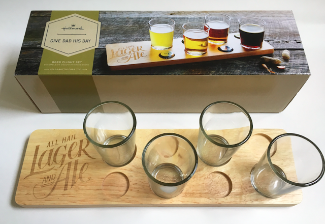 Hallmark Gifts for Father's Day - Beer Flight Glasses Set