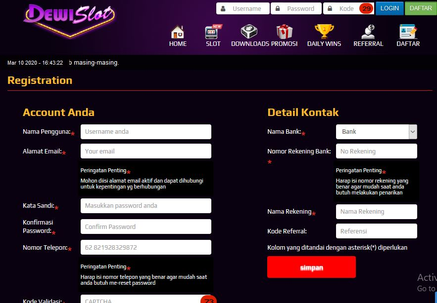 Situs Judi Slot Dengan Bonus New Member 100