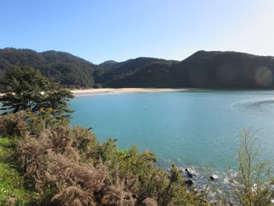 Bark Bay, Parque Nacional Abel Tasman, Nueva Zelanda