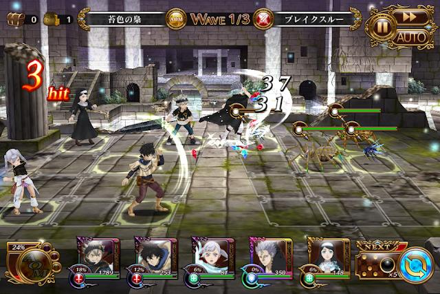 Black Clover Phantom Knights Japanese Mod Apk