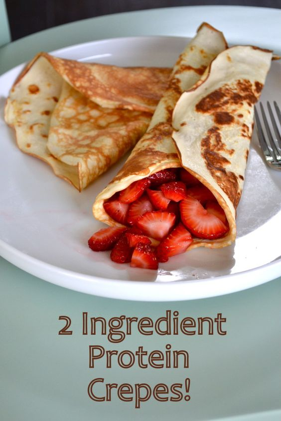 2 INGREDIENT PROTEIN CREPES #recipes #healthybreakfast #breakfastrecipes #healthybreakfastrecipes #food #foodporn #healthy #yummy #instafood #foodie #delicious #dinner #breakfast #dessert #lunch #vegan #cake #eatclean #homemade #diet #healthyfood #cleaneating #foodstagram