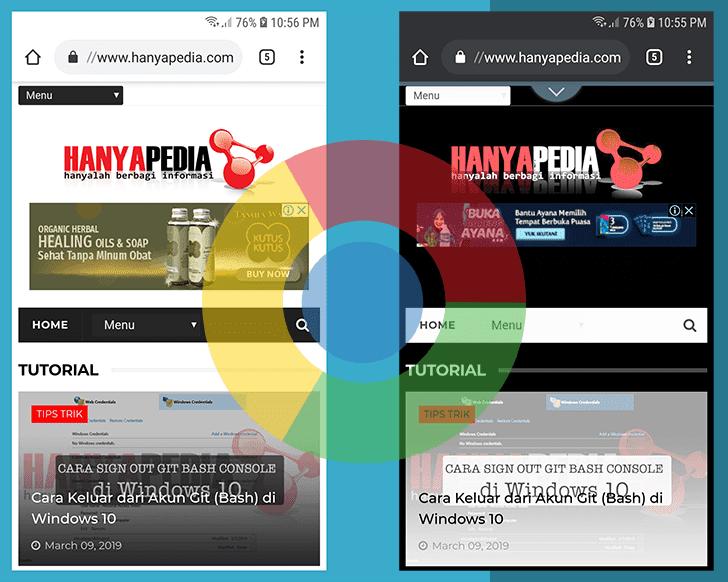 Cara Mengaktifkan Chrome Mode Gelap di Android
