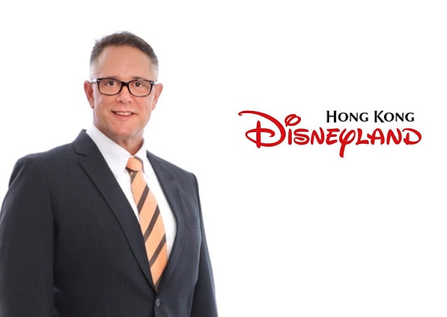 Hong Kong Disneyland Resort New Managing Director Michael Moriarty-香港迪士尼樂園度假區委任新行政總裁莫偉庭