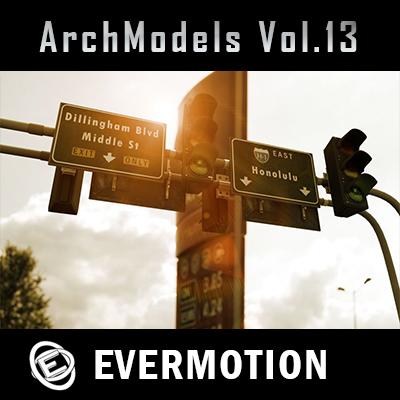 Evermotion Archmodels vol.13 3dsMax單體模型合集第13期下載