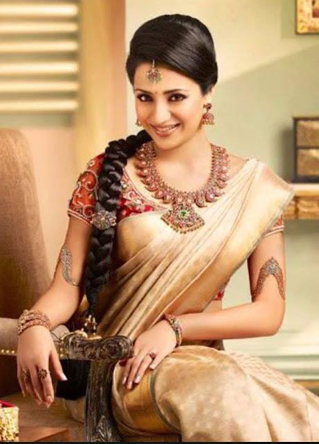 Trisha Krishnan Wearing Jewellery Image