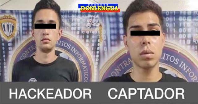 A LA CÁRCEL CON EL NEGRO | Detenidos dos estafadores de Whatsapp en Caracas