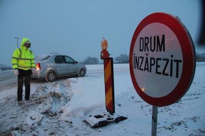 közlekedés, extrém időjárás, Székelyföld, Hargita megye, Kovászna megye, Háromszék,