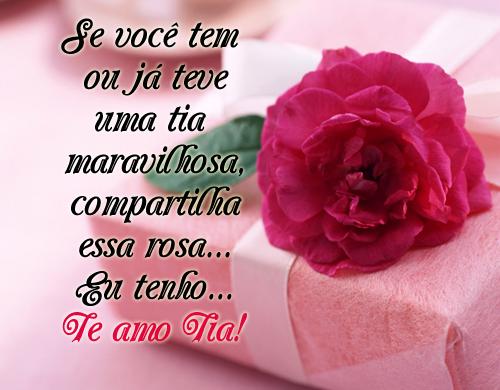 Feliz Aniversário Para Tia: Pérolas Mensagens: ♥ Dia Da Tia