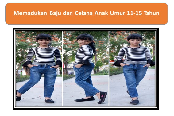 Celana Anak Umur 11-15 Tahun