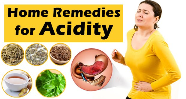 Home Remedies for Acidity for quick Relief - Health Tips