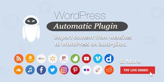 Free Download WordPress Automatic Plugin V3.46.2 (Auto Generate Content)