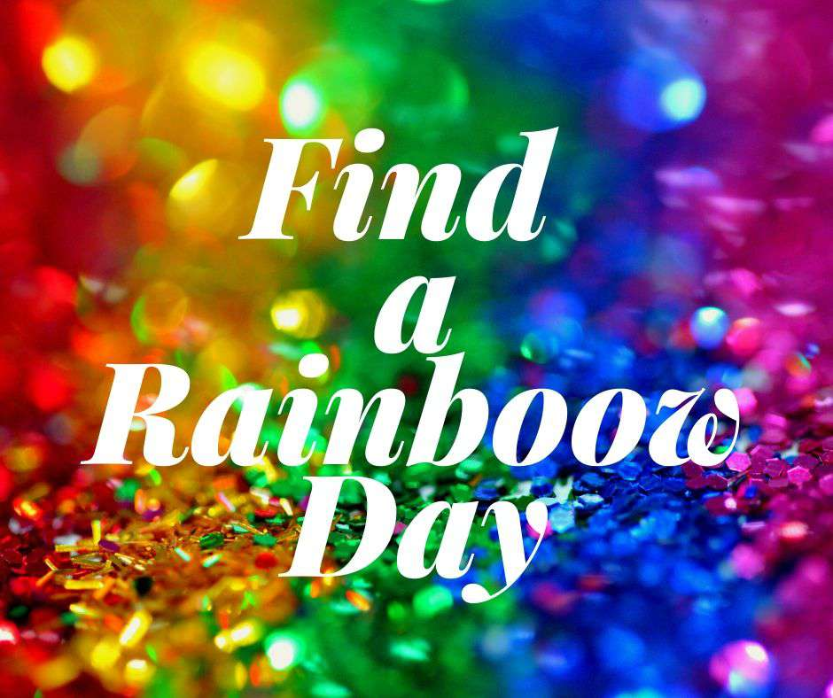 National Find a Rainbow Day Wishes For Facebook
