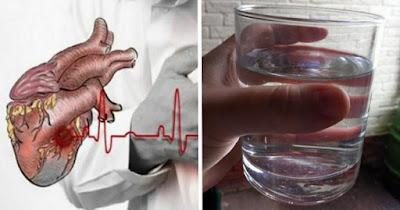 Ο Άγνωστος Ρόλος του Νερού στην Καρδιακή Προσβολή που Σχεδόν Κανένας Δεν Γνωρίζει!