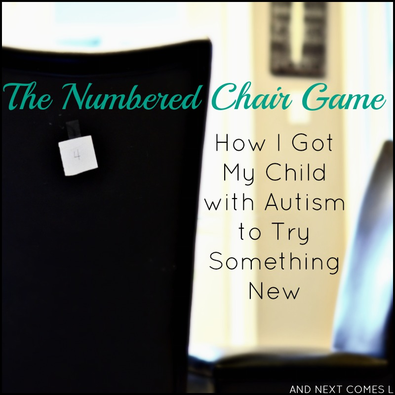 One mother's story of how she got her child with autism and hyperlexia to try something new (no tears and no fights involved!) from And Next Comes L