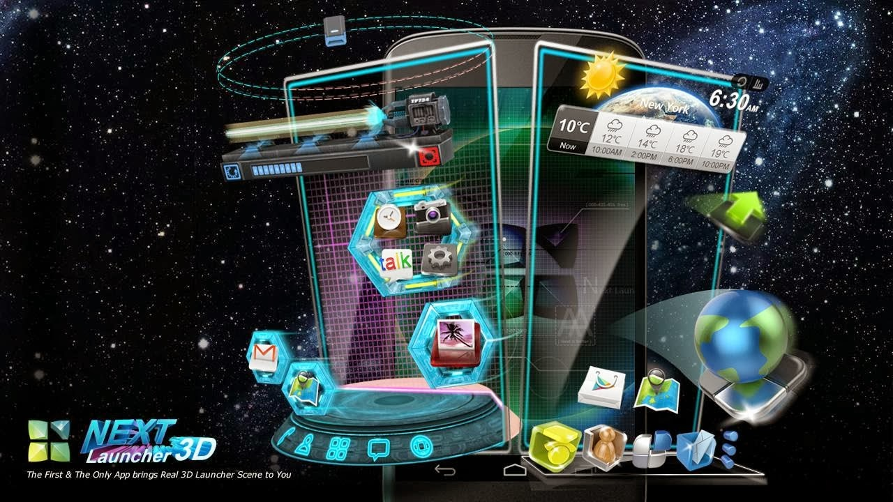 Download next launcher apk untuk android tv