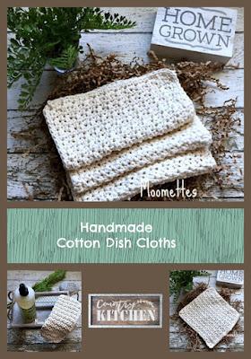 Handmade Kitchen Dish Cloths Washcloths