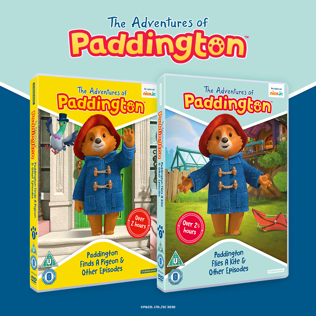 The Adventures of Paddington dvd