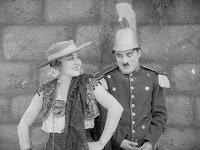 "Кадр из фильма Чарли Чаплина ""Пародия на Кармен"" / Burlesque on Carmen (1916) - 4"
