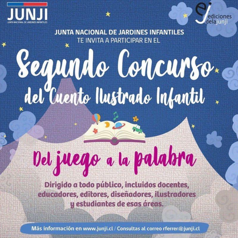Llamado de JUNJI a concurso literario infantil abierto a toda la comunidad