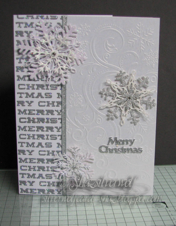 Silverwolf Cards: Snowflake Christmas Cards