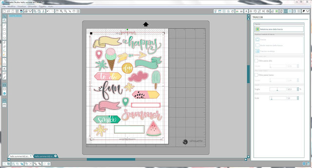 Come utilizzare i file print & cut | Silhouette Cameo step9