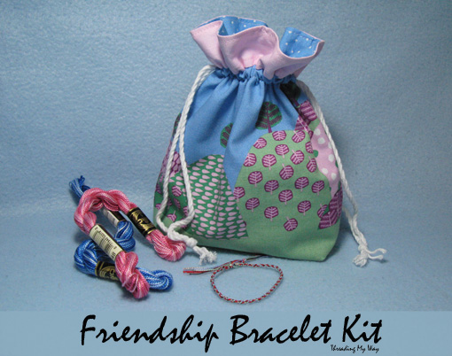 Friendship Bracelet Kit ~ Threading My Way