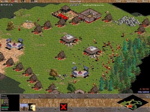 Age of Empires không cần phải đòi hỏi máy vi tính cấu hình cao