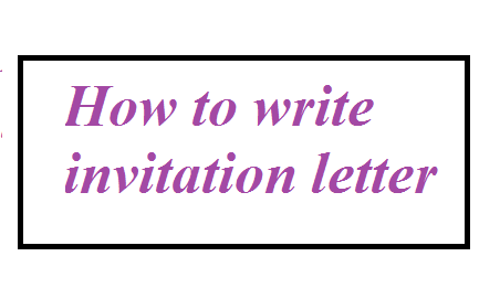 How to write invitation letter letter formats and sample letters this article covers what is invitation letter why it is needed what should be considered while writing the invitation letter what you should do and altavistaventures Gallery