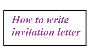 How to write invitation letter letter formats and sample letters what is invitation letter stopboris Choice Image