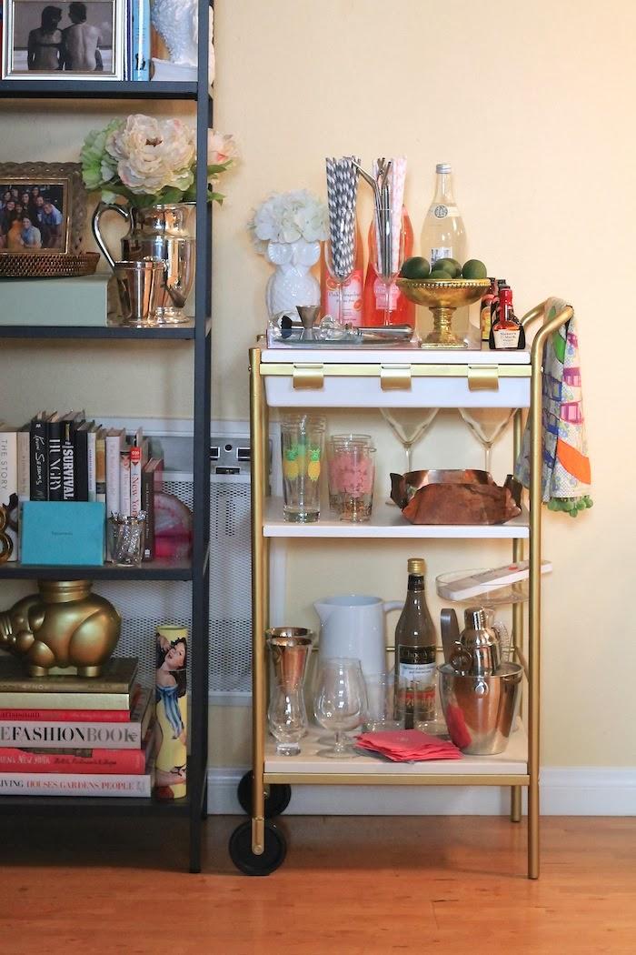 bygel utility cart from ikea. Black Bedroom Furniture Sets. Home Design Ideas