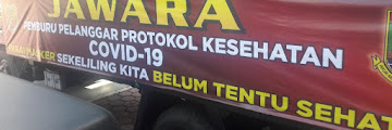 Jawara Polres Cilegon Pemburu Pelanggar Prokes Covid 19