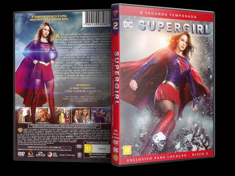 Capa DVD Supergirl - Segunda Temporada - Disco 2