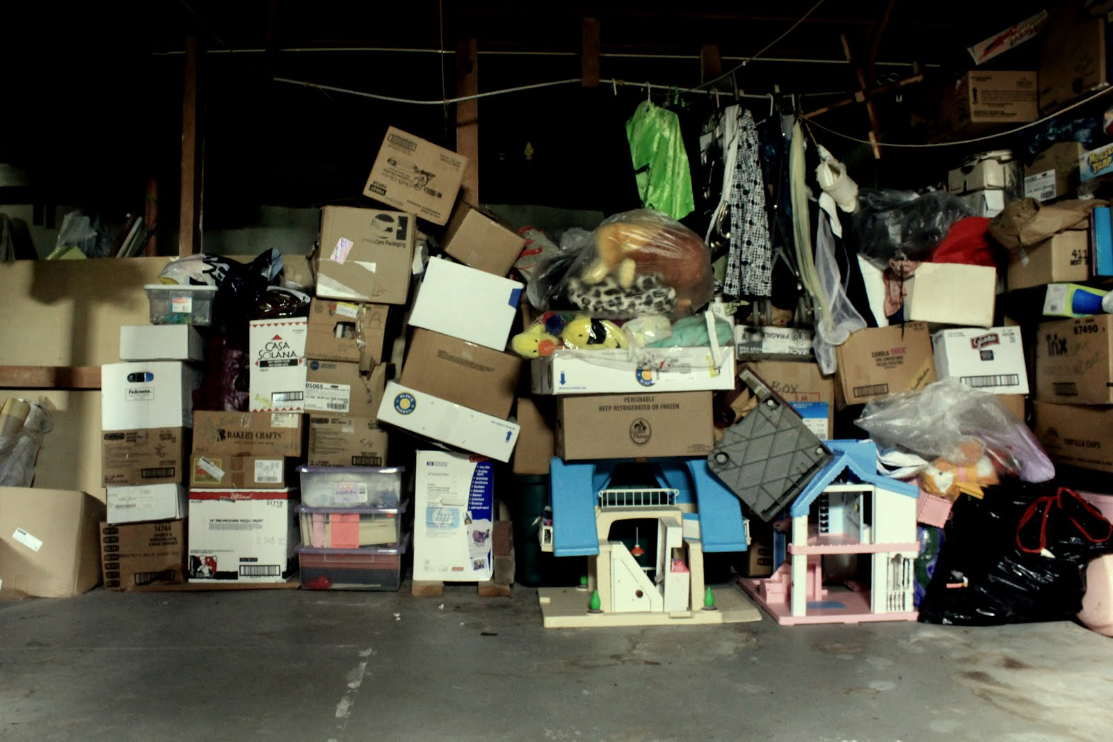 Candidly Clyde: Cleaning Out The Basement