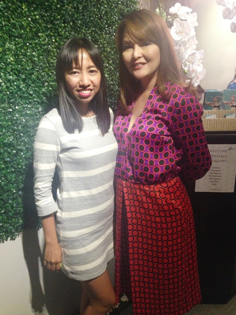 Me and Ms. Maureen Roy of VINE Holistic Medical Aesthetics