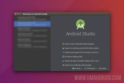 Menjalankan Android Studio di Linux Ubuntu