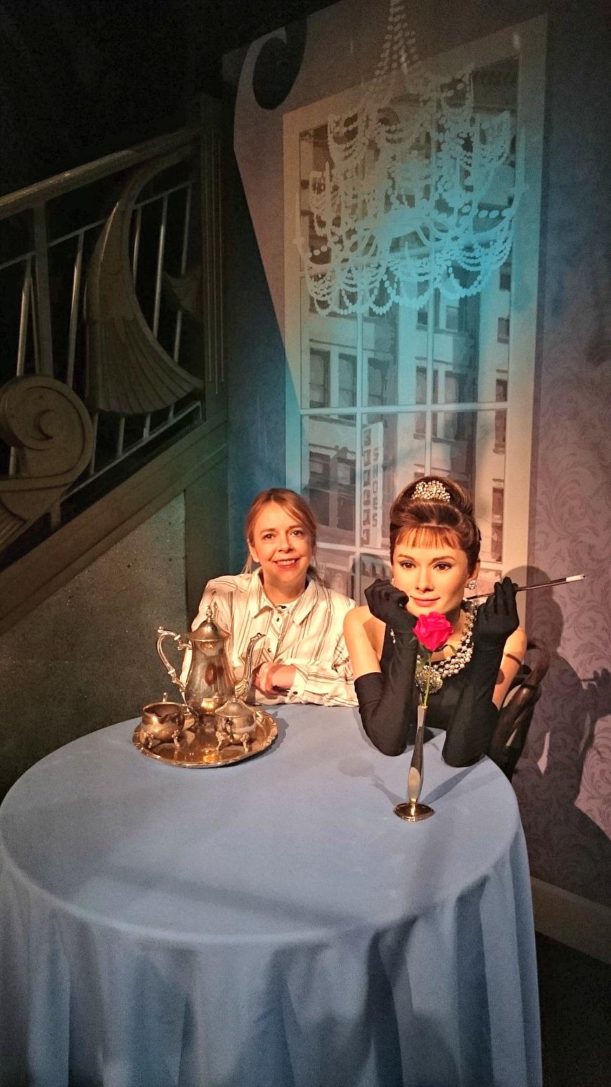 Madame Tussauds Audrey Hepburn