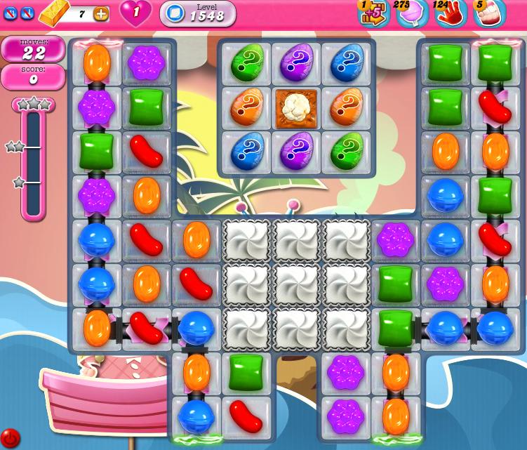 Candy Crush Saga 1548